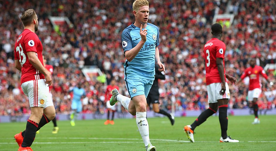 Kevin De Bruyne (Belgien, Manchester City) - Bildquelle: 2016 Getty Images