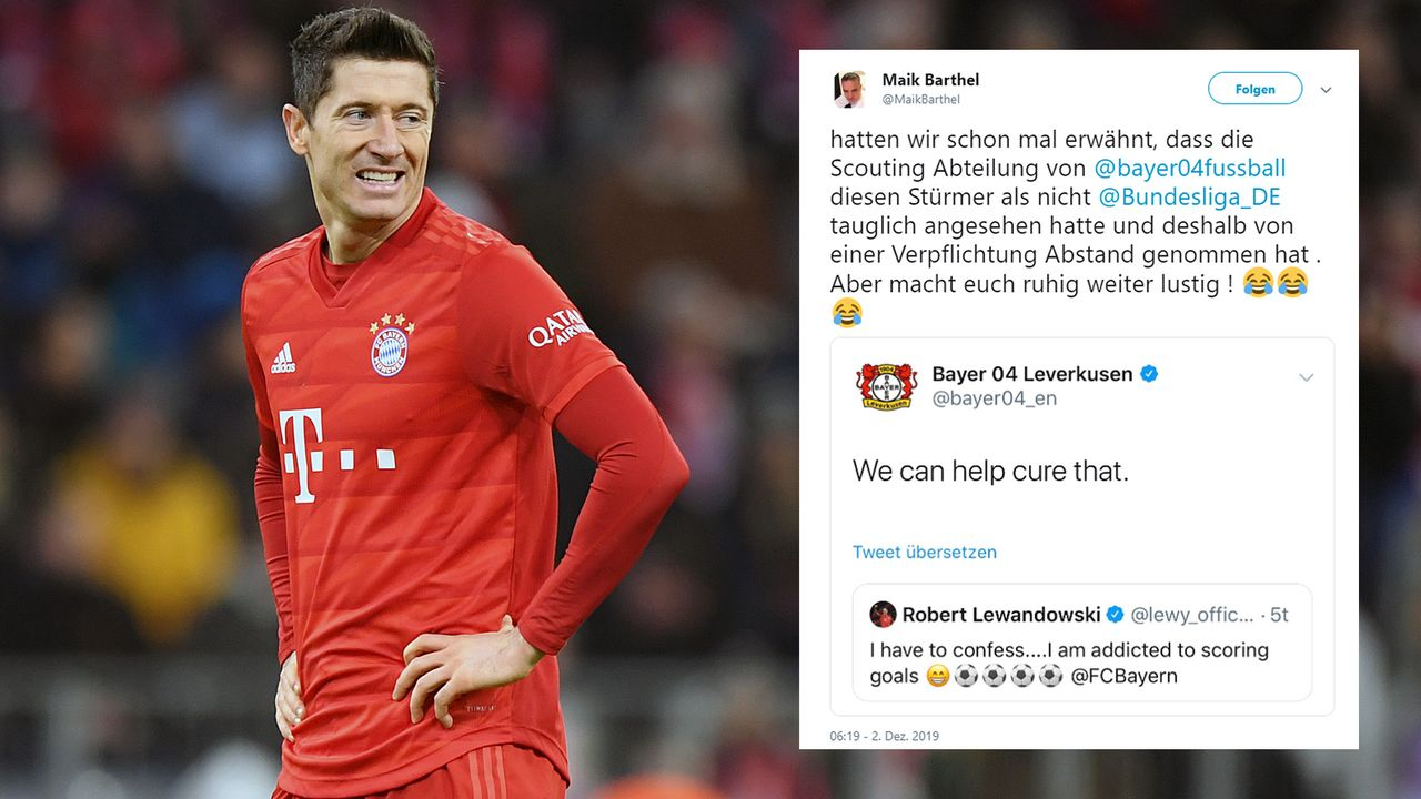 Robert Lewandowski (Bayer Leverkusen) - Bildquelle: 2019 Getty Images