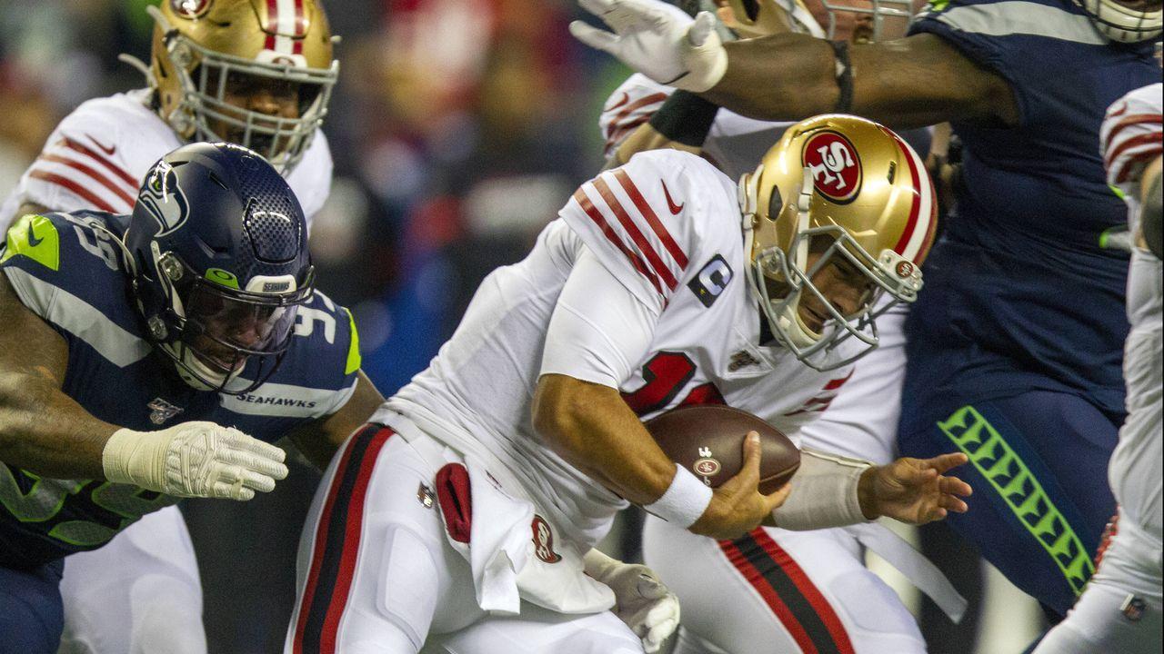 17. Spieltag: Seattle Seahawks @ San Francisco 49ers - Bildquelle: imago images/UPI Photo