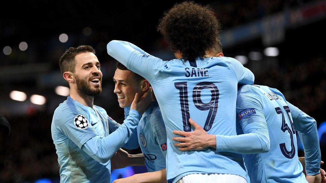 Platz 4 - Manchester City - Bildquelle: 2019 Getty Images