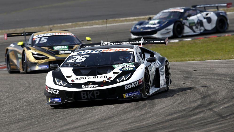Das Lamborghini-Team T3 will sein DTM-Engagement in der Saison 2022 ausbauen... - Bildquelle: Motorsport Images