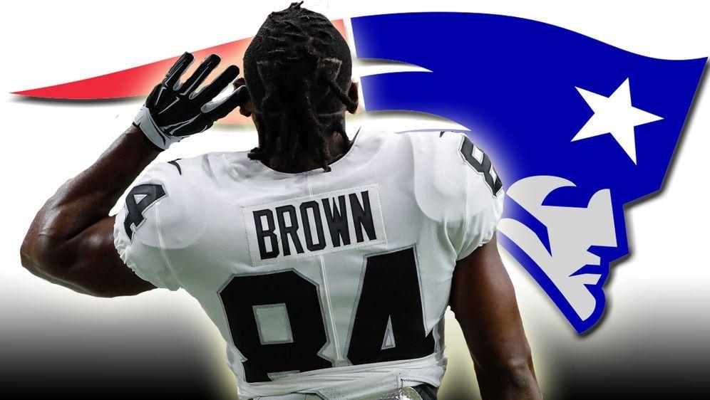 Antonio Brown bestritt kein einziges Spiel für die Oakland Raiders. - Bildquelle: imago/ran.de