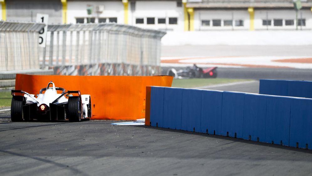 Die Schikane in Valencia fällt 2020 beim Formel-E-Test weg. - Bildquelle: Motorsport Images