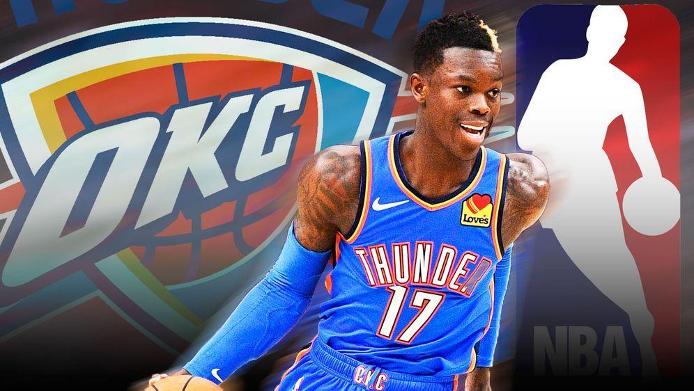 Dennis Schröder spielt bei den Oklahoma City Thunder groß auf - Bildquelle: imago/ran.de
