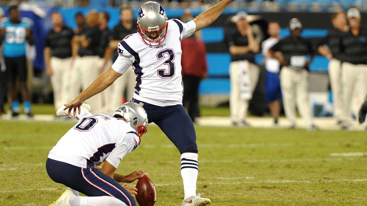 Platz 4: Stephen Gostkowski (New England Patriots) - Bildquelle: imago/Icon SMI