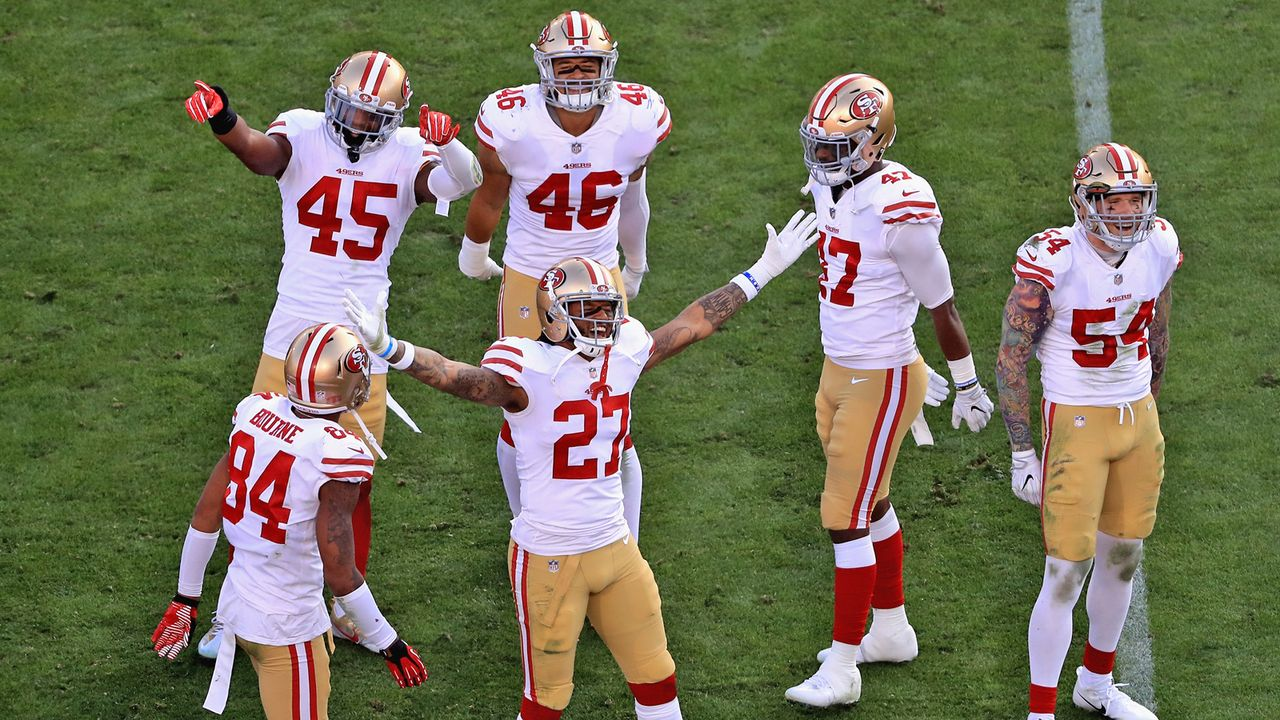 Platz 8: San Francisco 49ers - Bildquelle: 2017 Getty Images