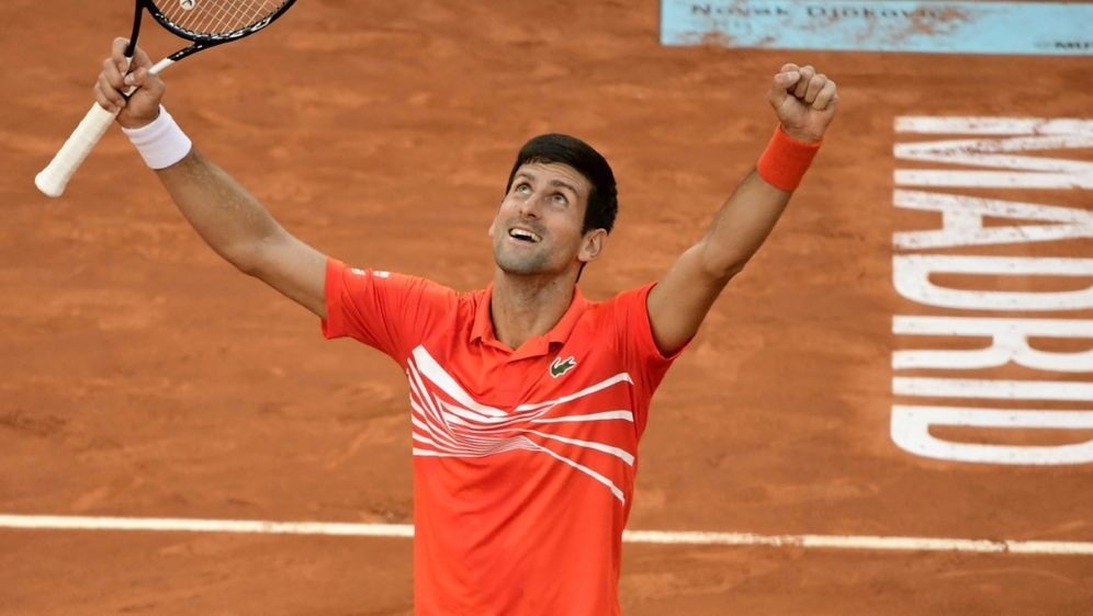 Djokovic holte in Madrid seinen 74. Turniersieg - Bildquelle: AFPSIDJAVIER SORIANO