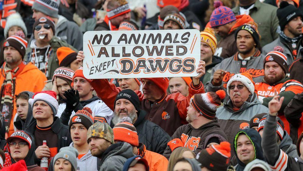 Browns-Fans sind heiß auf die neue Saison.