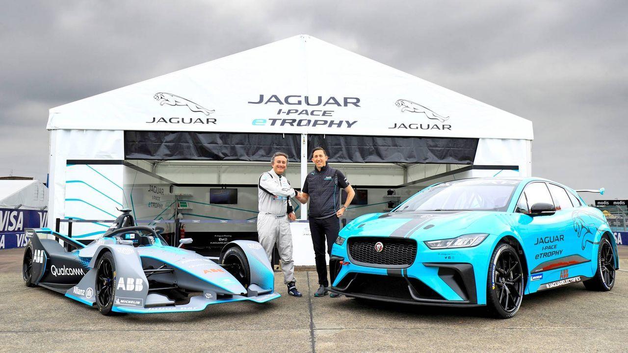Auch die Jaguar I-PACE eTrophy startet in Berlin - Bildquelle: Getty