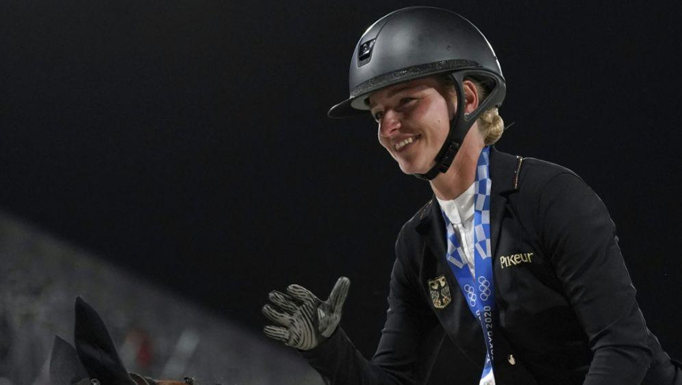Julia Krajewski gewann in Tokio Vielseitigkeits-Gold - Bildquelle: AFPSIDCAROLYN KASTER