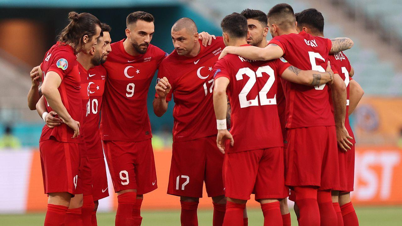 Gruppe A: Türkei (Gruppenvierter, 0 Punkte/1:8 Tore) - Bildquelle: 2021 Getty Images