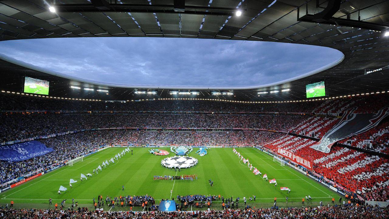 2012: Allianz Arena München - Bildquelle: imago/Ulmer/Schaad