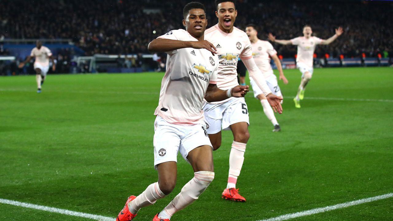 Marcus Rashford (Manchester United) - Bildquelle: 2019 Getty Images