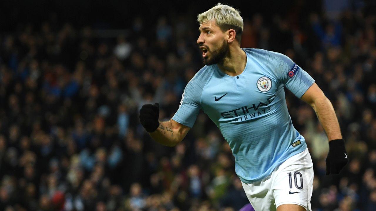 Platz 5: Sergio Agüero (Manchester City)  - Bildquelle: getty
