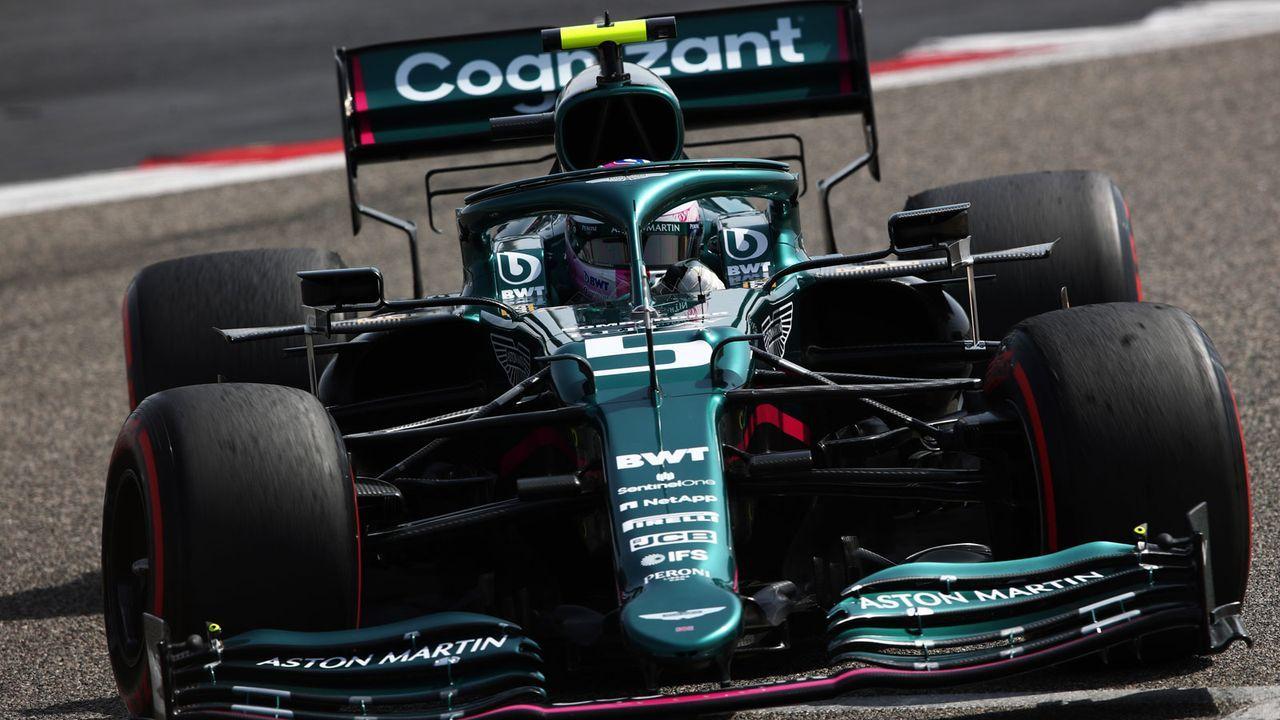 Bahrain-Tests: Vettel in neuer Farbe unterwegs - Bildquelle: Getty Images