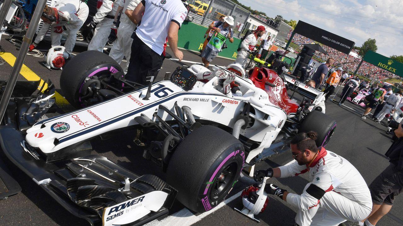 10. Sauber - Bildquelle: imago/Motorsport Images
