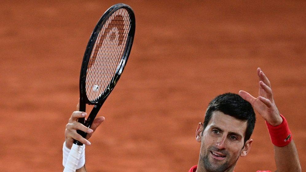 Djokovic gewann das Turnier in Paris im Vorjahr - Bildquelle: AFPSIDMARTIN BUREAU