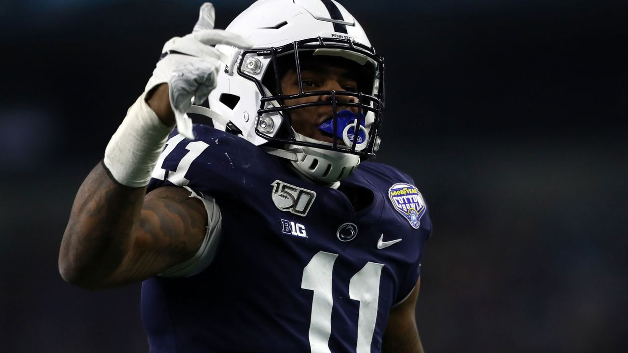 15. Pick: New England Patriots - Micah Parsons (Linebacker) - Bildquelle: 2019 Getty Images