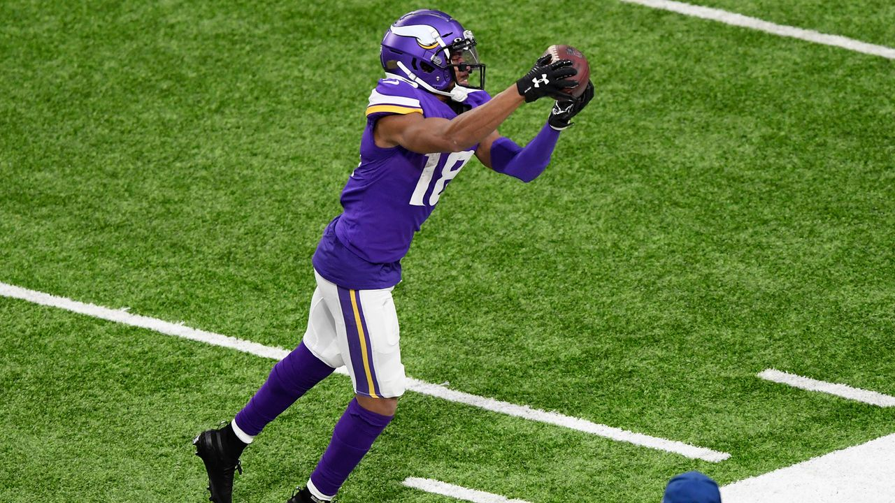 Meisten Receiving Yards für einen Rookie der Minnesota Vikings - Bildquelle: 2020 Getty Images