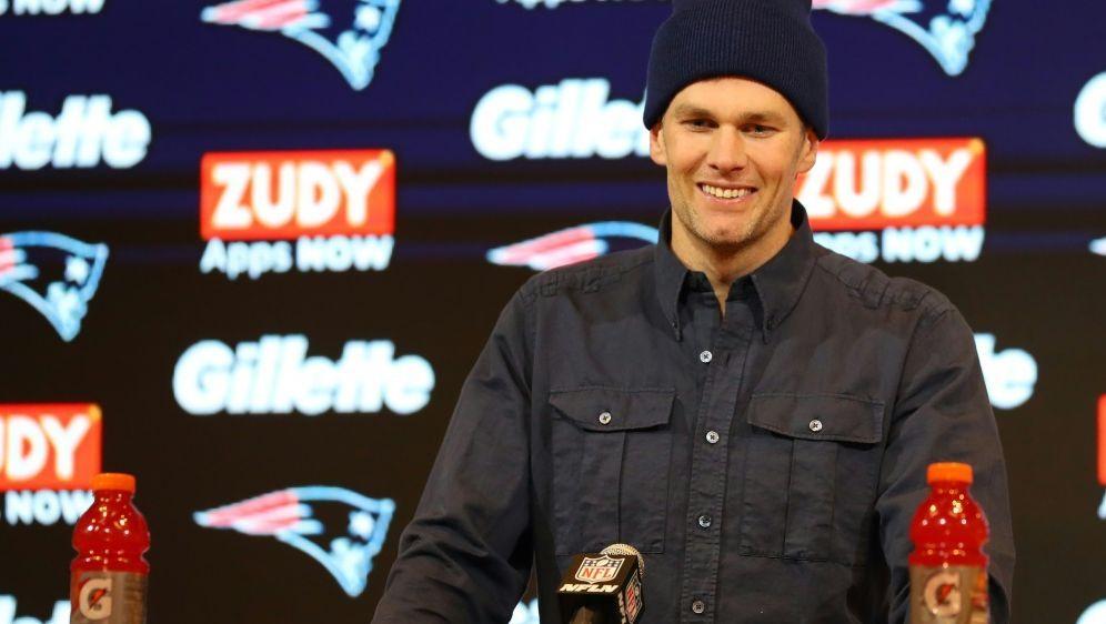 Macht trotz frühem Play-off-Aus weiter: Tom Brady - Bildquelle: AFPGETTY IMAGES NORTH AMERICASIDMaddie Meyer
