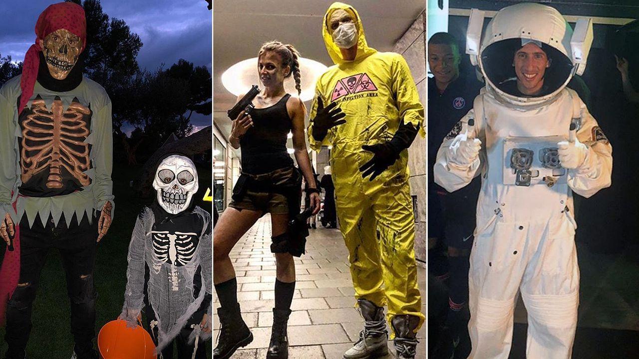 Halloween Kostueme Stars.So Feiern Die Fussball Stars Halloween
