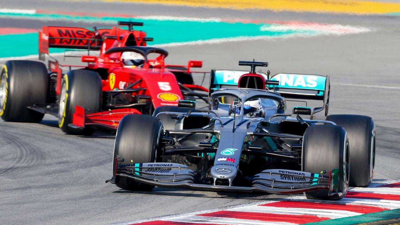 Mercedes Top, Ferrari Flop: Die Gewinner und Verlierer der ersten Testfahrten - Bildquelle: imago images/HochZwei