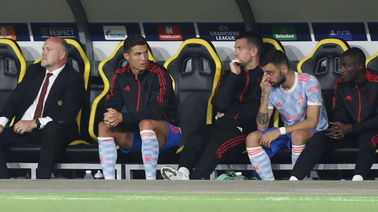 Ronaldo wird ausgewechselt - Bildquelle: 2021 imago