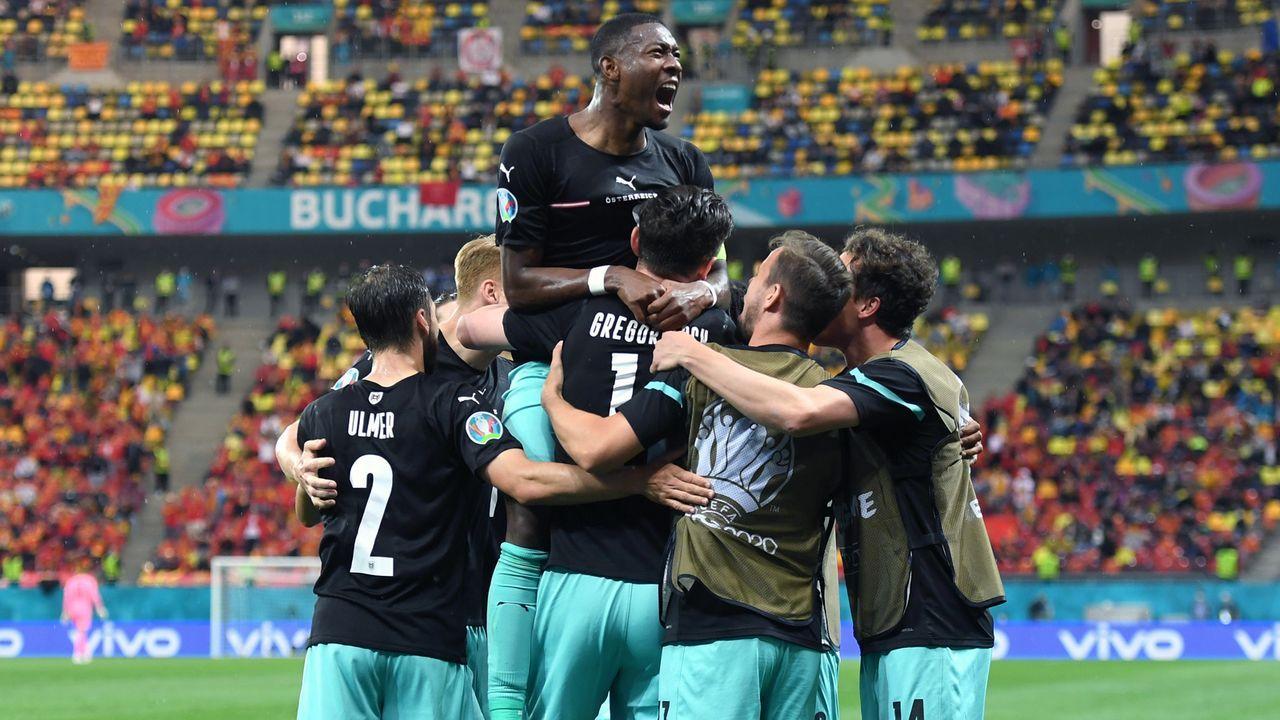 Gruppe C: Österreich (Gruppenzweiter, 6 Punkte/4:3 Tore) - Bildquelle: 2021 Getty Images