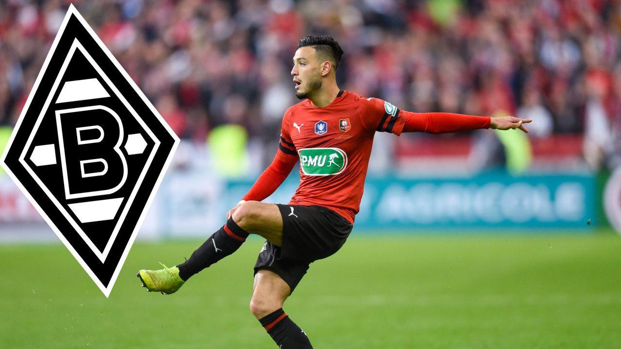 Ramy Bensebaini (Borussia Mönchengladbach)  - Bildquelle: imago