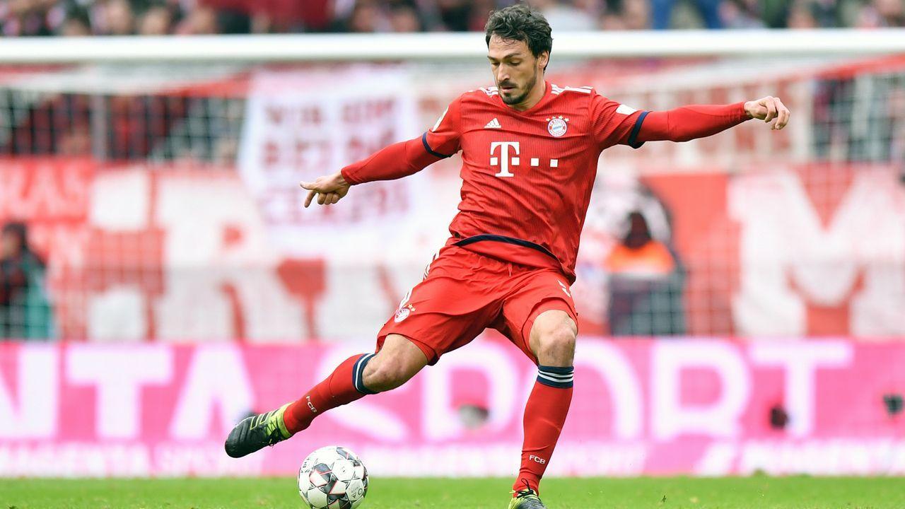 Platz 5 - Mats Hummels (FC Bayern München) - Bildquelle: 2019 Getty Images