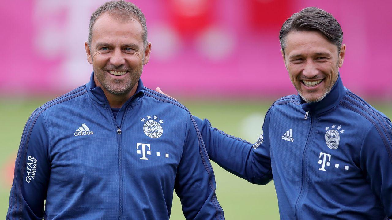 Platz 2: Hansi Flick (FC Bayern München) - Bildquelle: 2019 Getty Images