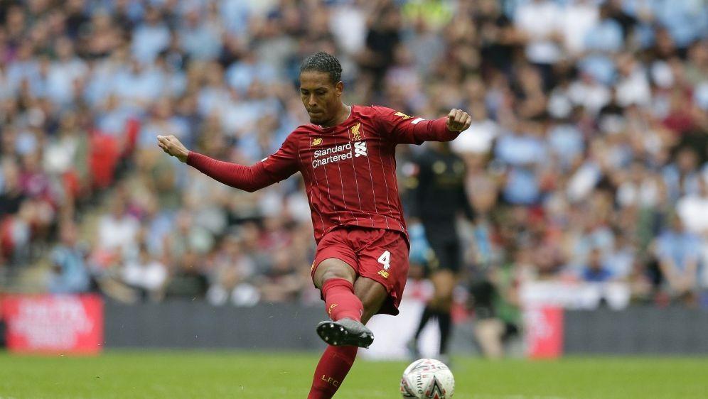 Van Dijk vom FC Liverpool könnte erstmals gewinnen - Bildquelle: PIXATHLONPIXATHLONSID