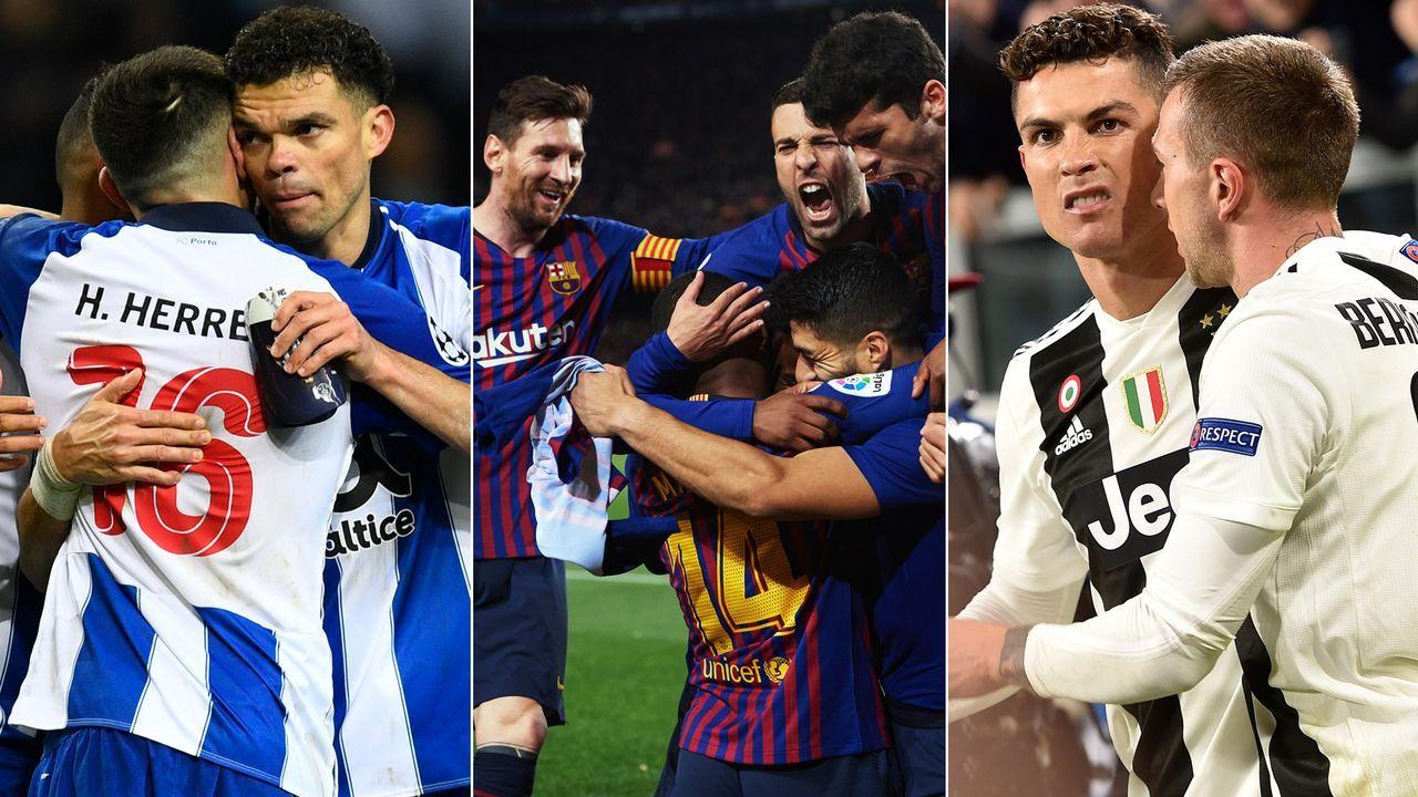 Gehälter der Viertelfinalisten der Champions League. - Bildquelle: Getty Images