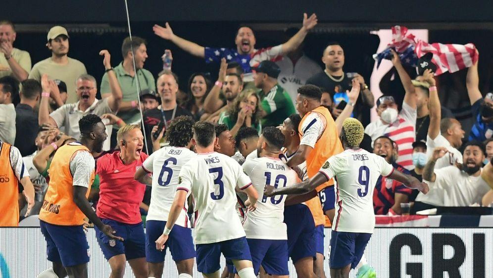 Das Tor von Robinson führte die USA zum Gold-Cup-Erfolg - Bildquelle: AFPSIDFREDERIC J. BROWN