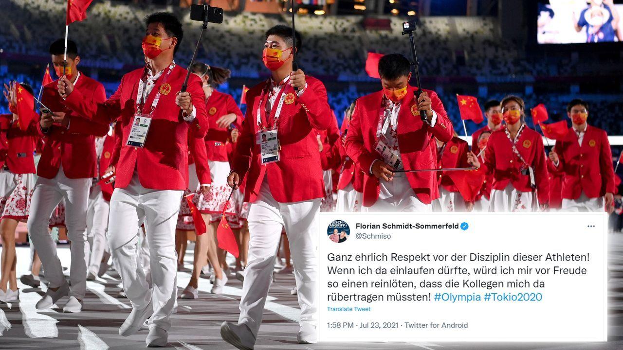 Respekt an die Athleten - Bildquelle: 2021 Getty Images