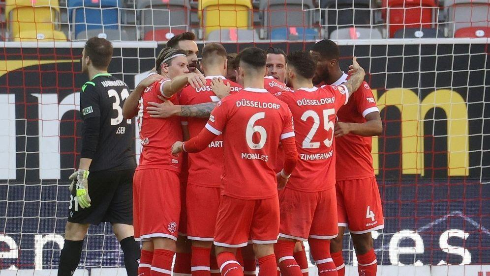 Düsseldorf siegt mit drei Toren gegen Osnabrück - Bildquelle: FIROFIROSID