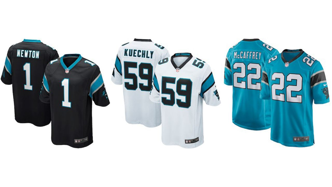 Carolina Panthers - Bildquelle: nflshop.com