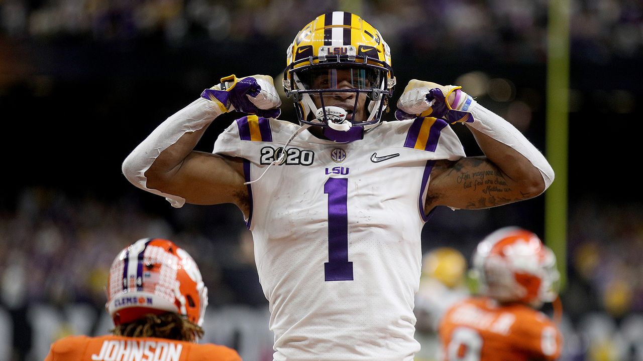 Ja'Marr Chase, Wide Receiver, LSU - Bildquelle: Getty Images
