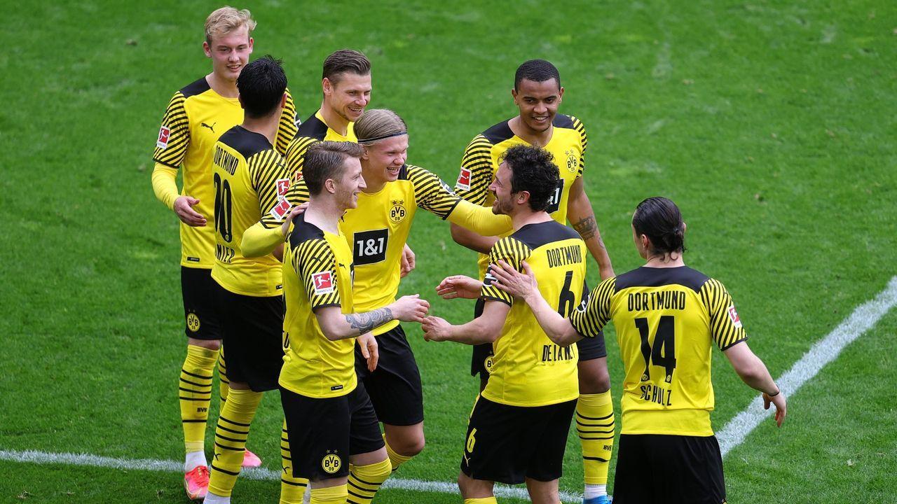 Platz 1: Borussia Dortmund - Bildquelle: Getty
