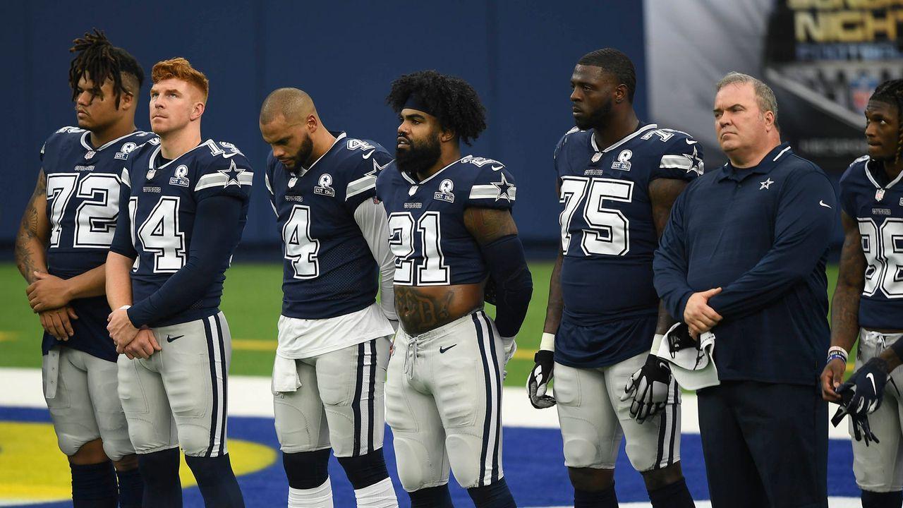 Platz 1 (geteilt): Dallas Cowboys (1-2) - Bildquelle: 2020 Getty Images
