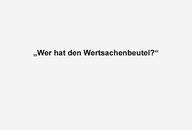 Der Wertsachenbeutel - Bildquelle: ran.de