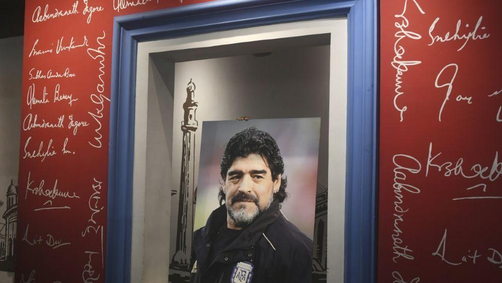 Maradona wird am Donnerstag in Buenos Aires beerdigt - Bildquelle: AFPSIDDIBYANGSHU SARKAR