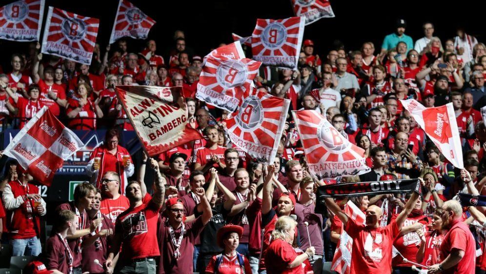 Brose Bamberg ist gegen eine Fortführung der BBL-Saison - Bildquelle: AFPSIDDAVID PINTENS