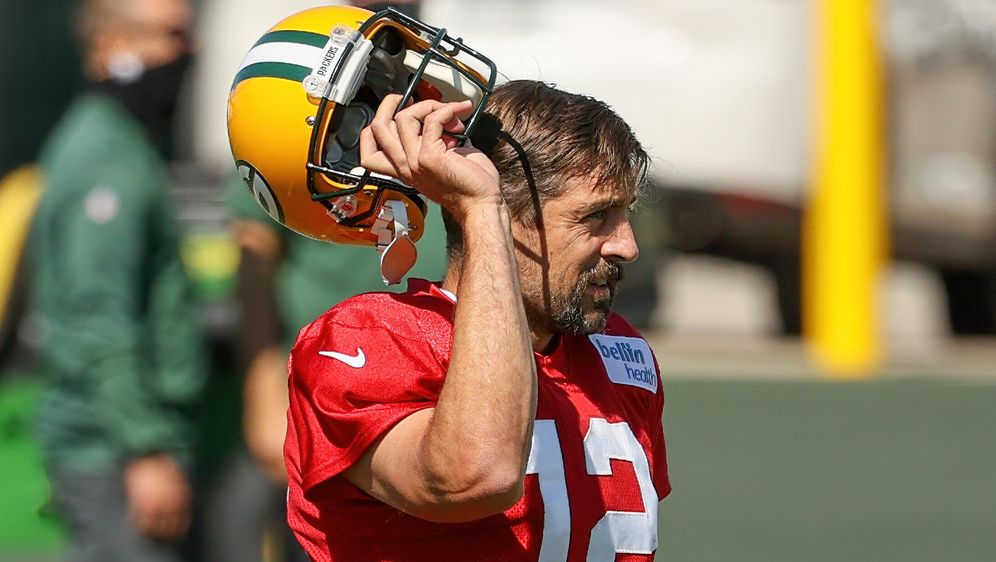 Aaron Rodgers spielt4 seit 16 Jahren für die Green Bay Packers. - Bildquelle: Getty