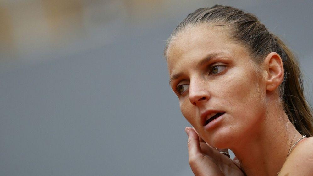 Für Karolina Pliskova ist in der zweiten Runde Schluss - Bildquelle: AFPSIDTHOMAS SAMSON