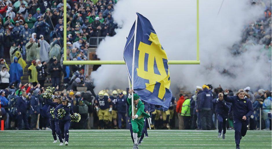 3. Notre Dame Fighting Irish - Bildquelle: 2017 Getty Images