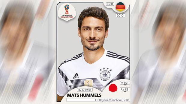 Mats Hummels (FC Bayern München) - Bildquelle: Panini