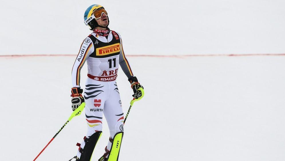 Felix Neureuther fädelte ein und wurde disqualifiziert - Bildquelle: AFPSIDJONATHAN NACKSTRAND