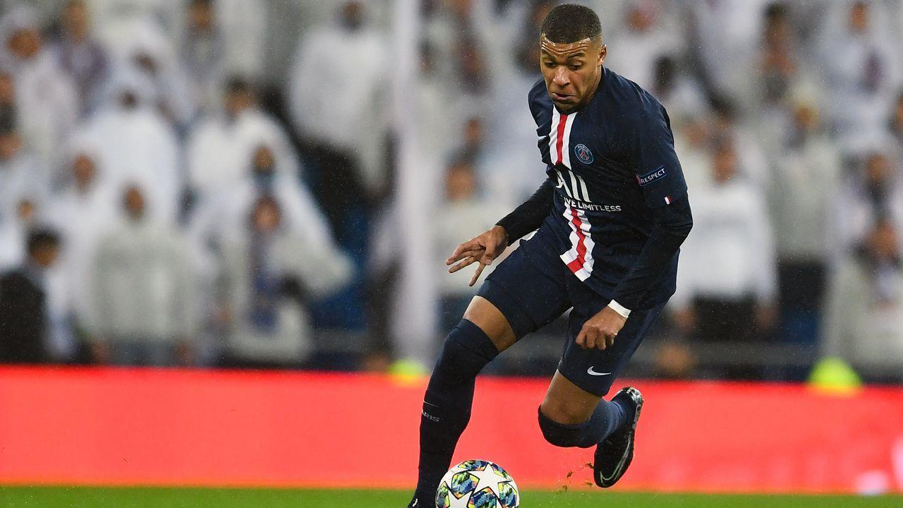 Platz 5 - Kylian Mbappe (Paris St. Germain) - Bildquelle: 2019 Getty Images