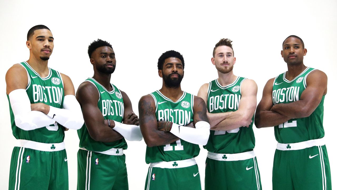 1. Platz im Osten: Boston Celtics - Bildquelle: 2018 Getty Images